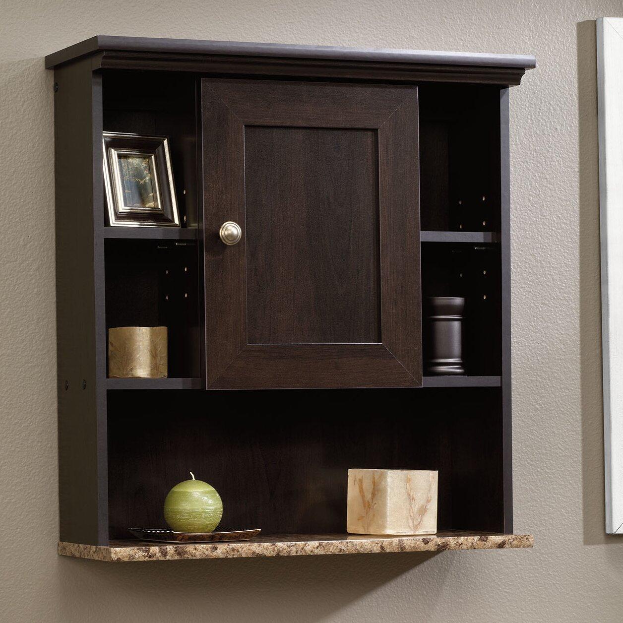 sauder peppercorn x wall mounted cabinet reviews wayfair. Black Bedroom Furniture Sets. Home Design Ideas
