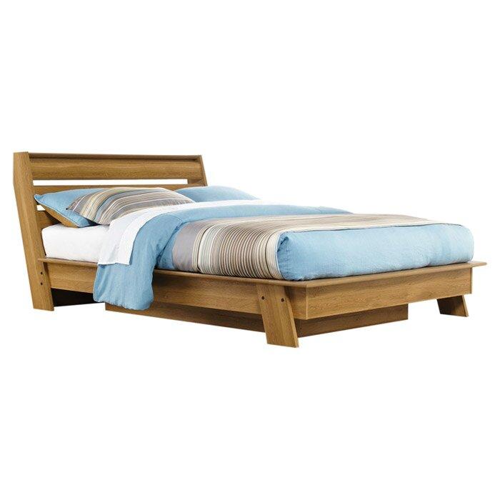 Modern Platform Bedroom Sets Soft Bedroom Lighting Black And Red Bedroom Interior Design Bedroom Furniture Ideas 2016: Sauder Queen Platform Bed & Reviews
