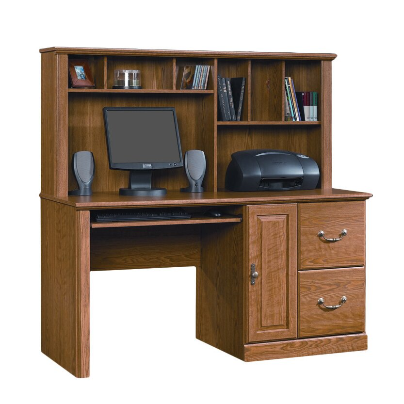 Sauder Orchard Hills Computer Desk With Hutch Amp Reviews