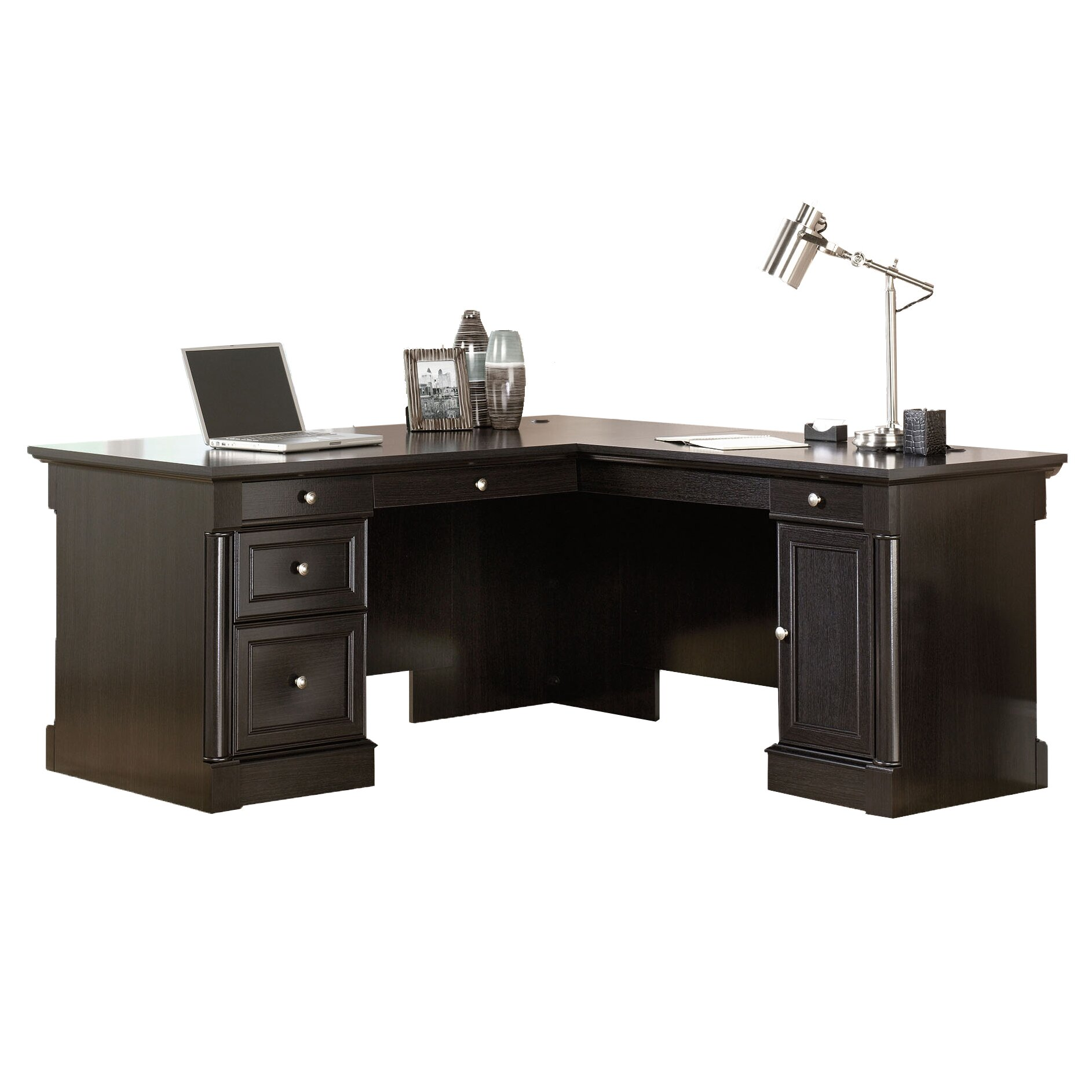 Executive Office Furniture: Darby Home Co Hennepin Executive Desk & Reviews