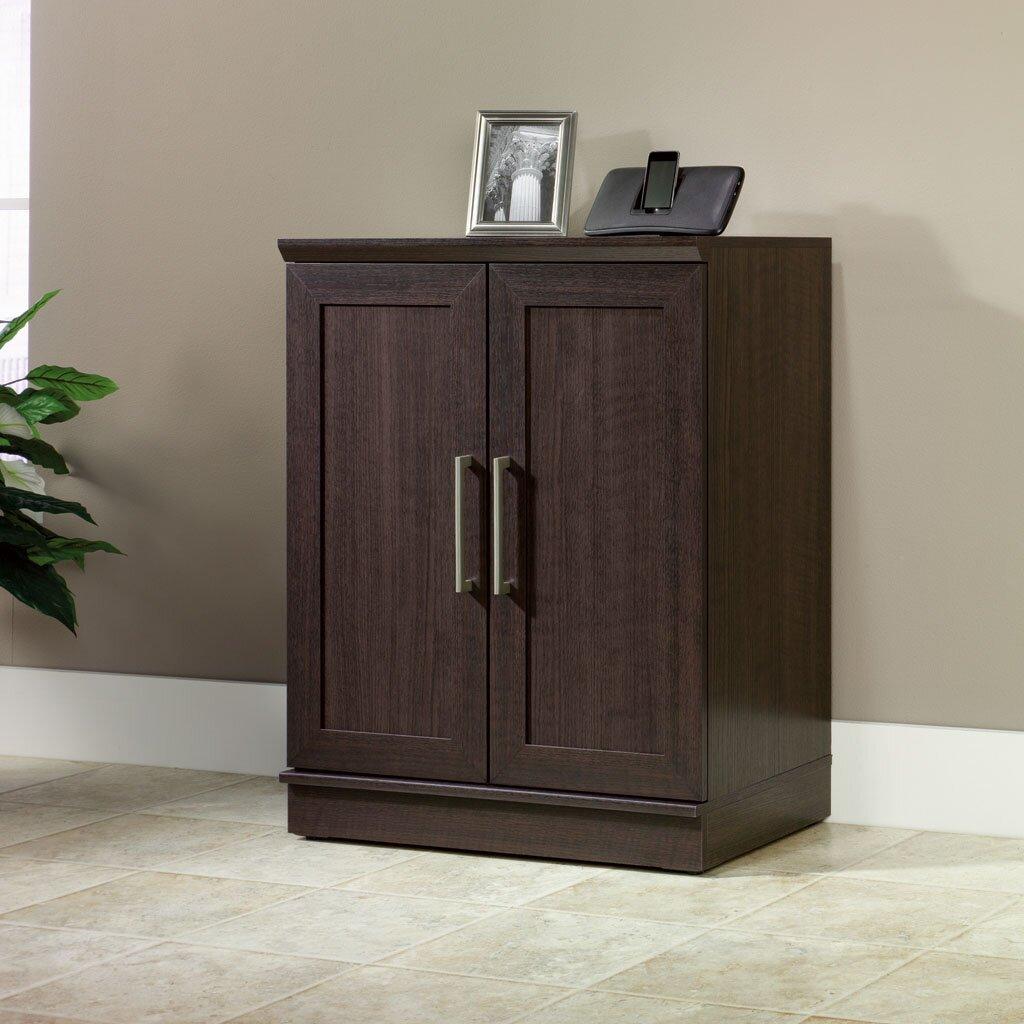Sauder Homeplus 2 Door Storage Cabinet Reviews Wayfair