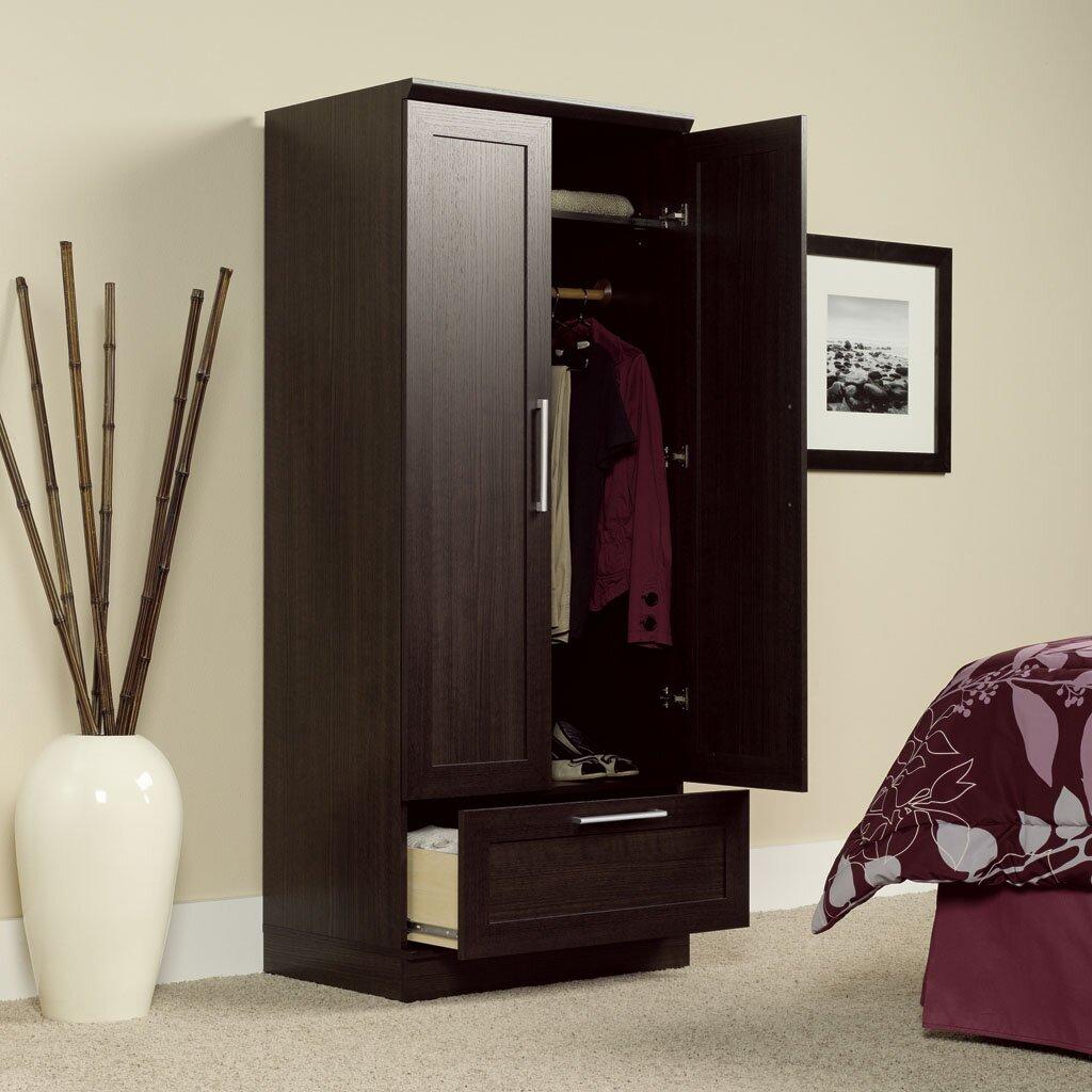 Sauder Homeplus Wardrobe Armoire Amp Reviews Wayfair