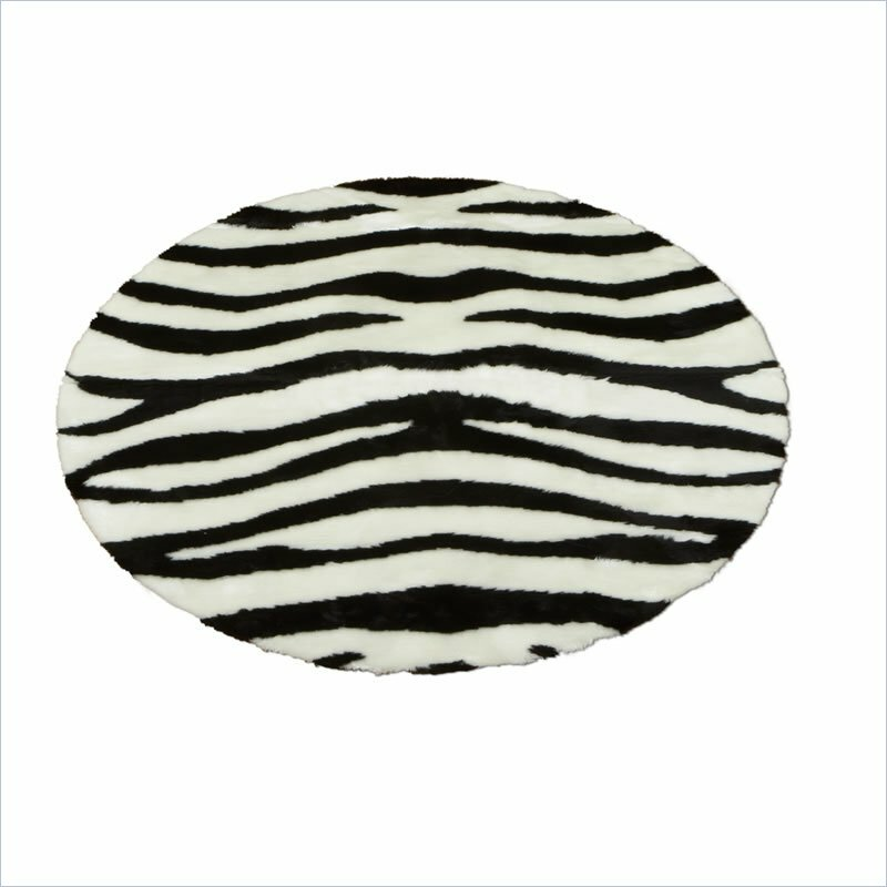 Zebra Rug Wayfair: Walk On Me Animal Zebra Bold Striped Area Rug & Reviews