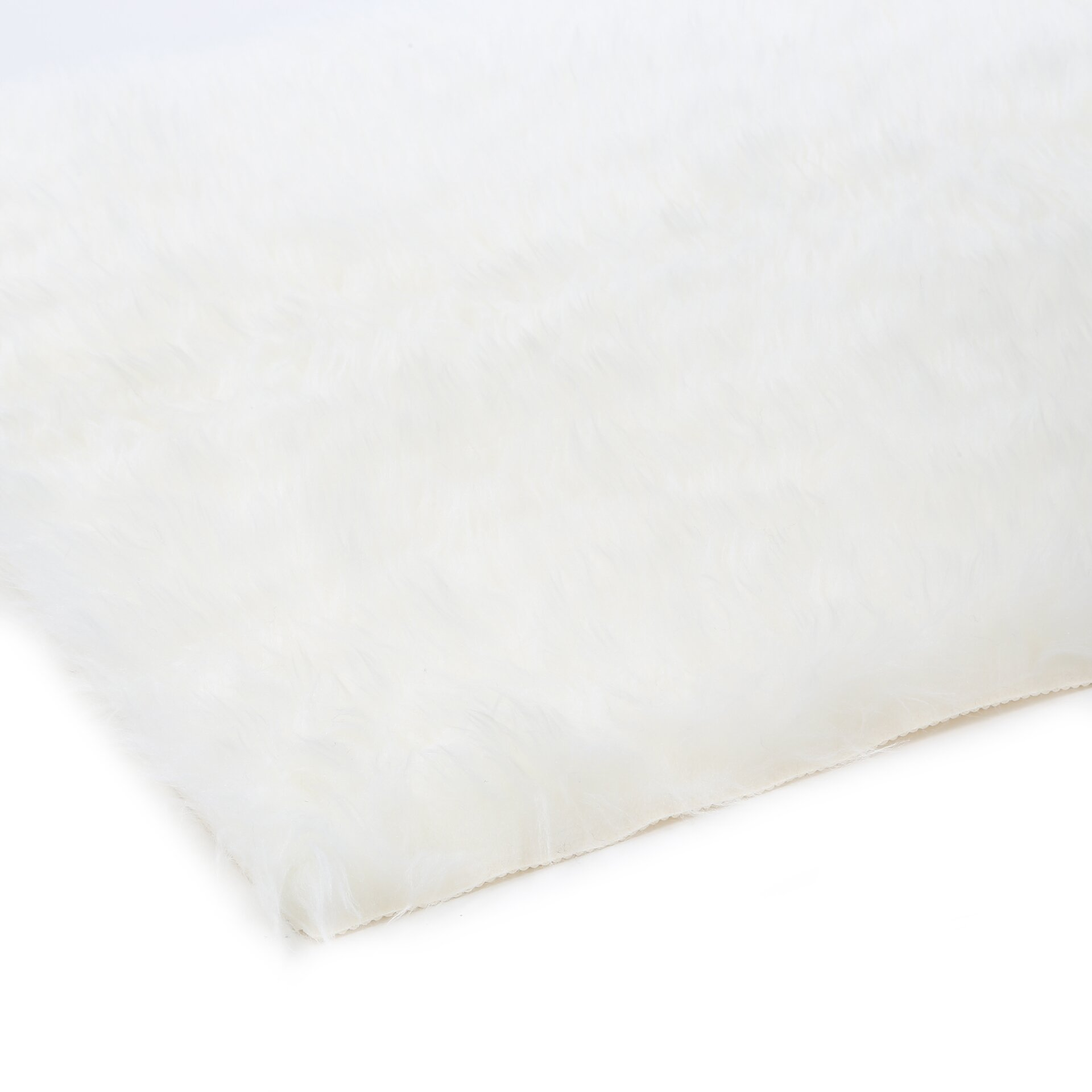 Walk On Me Polar Bear Faux Fur Area Rug & Reviews