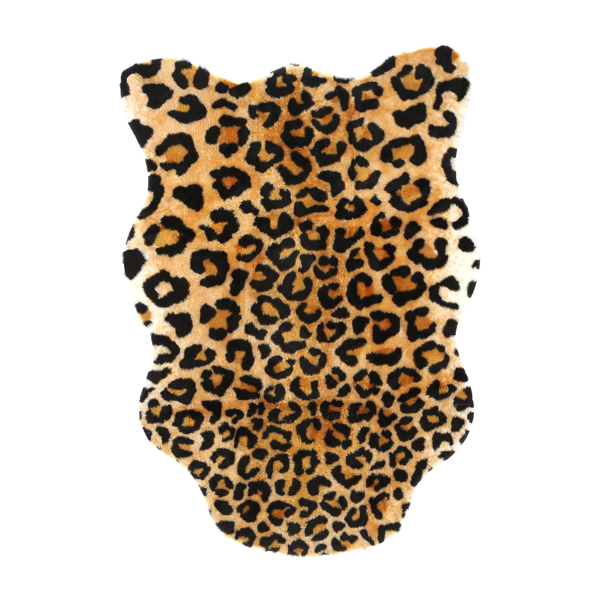 Walk On Me Animal Black Brown Leopard Area Rug Amp Reviews