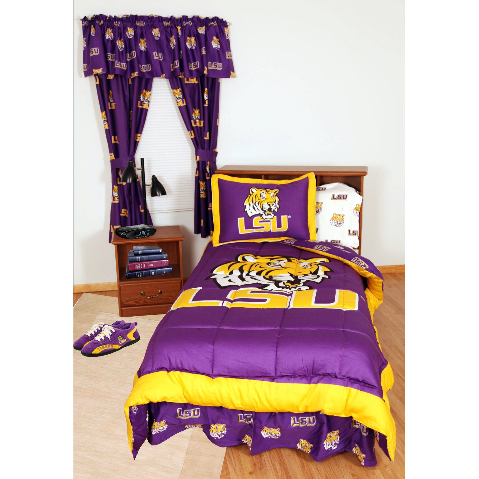 college covers ncaa lsu bed in a bag collection reviews