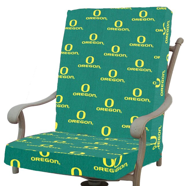 College Covers NCAA Oregon Outdoor Dining Chair Cushion Reviews Wayfair