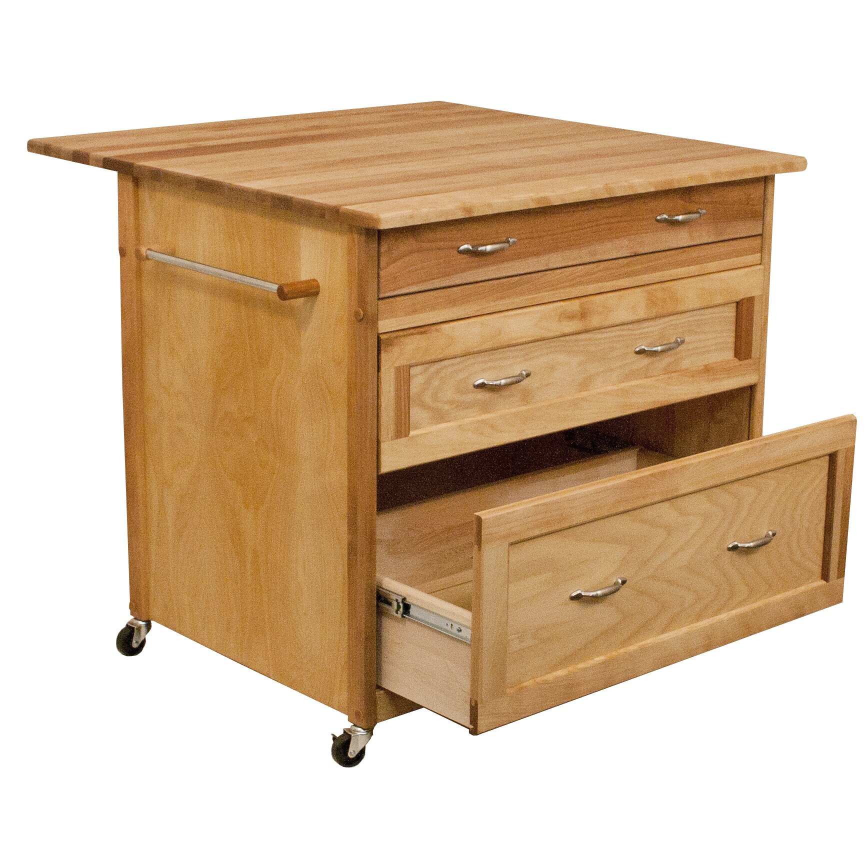 catskill craftsmen kitchen island catskill craftsmen kitchen island with wood top amp reviews 5141