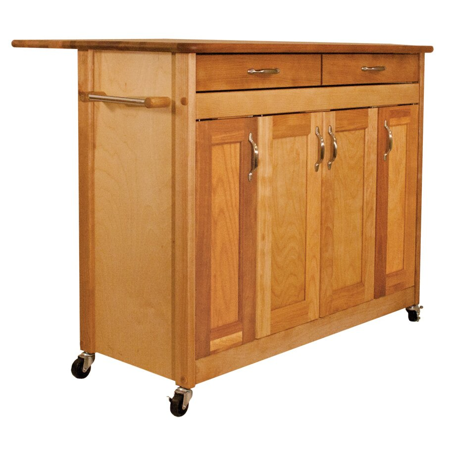catskill craftsmen kitchen island catskill craftsmen kitchen island with wood top wayfair 5141