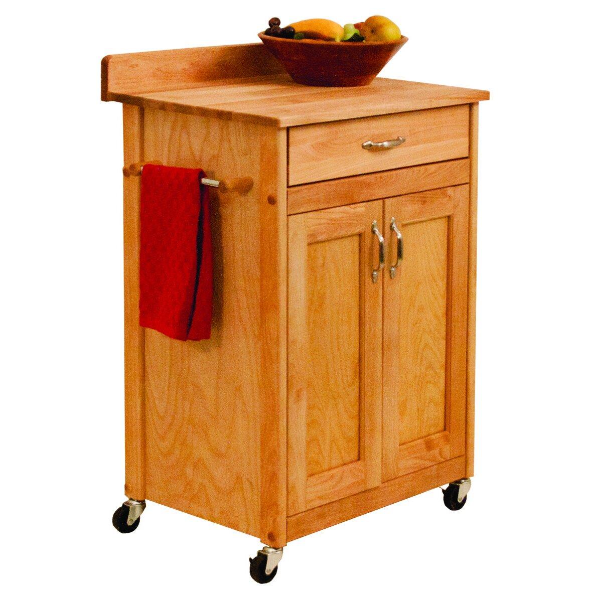 Catskill Craftsmen Kitchen Cart Wayfair