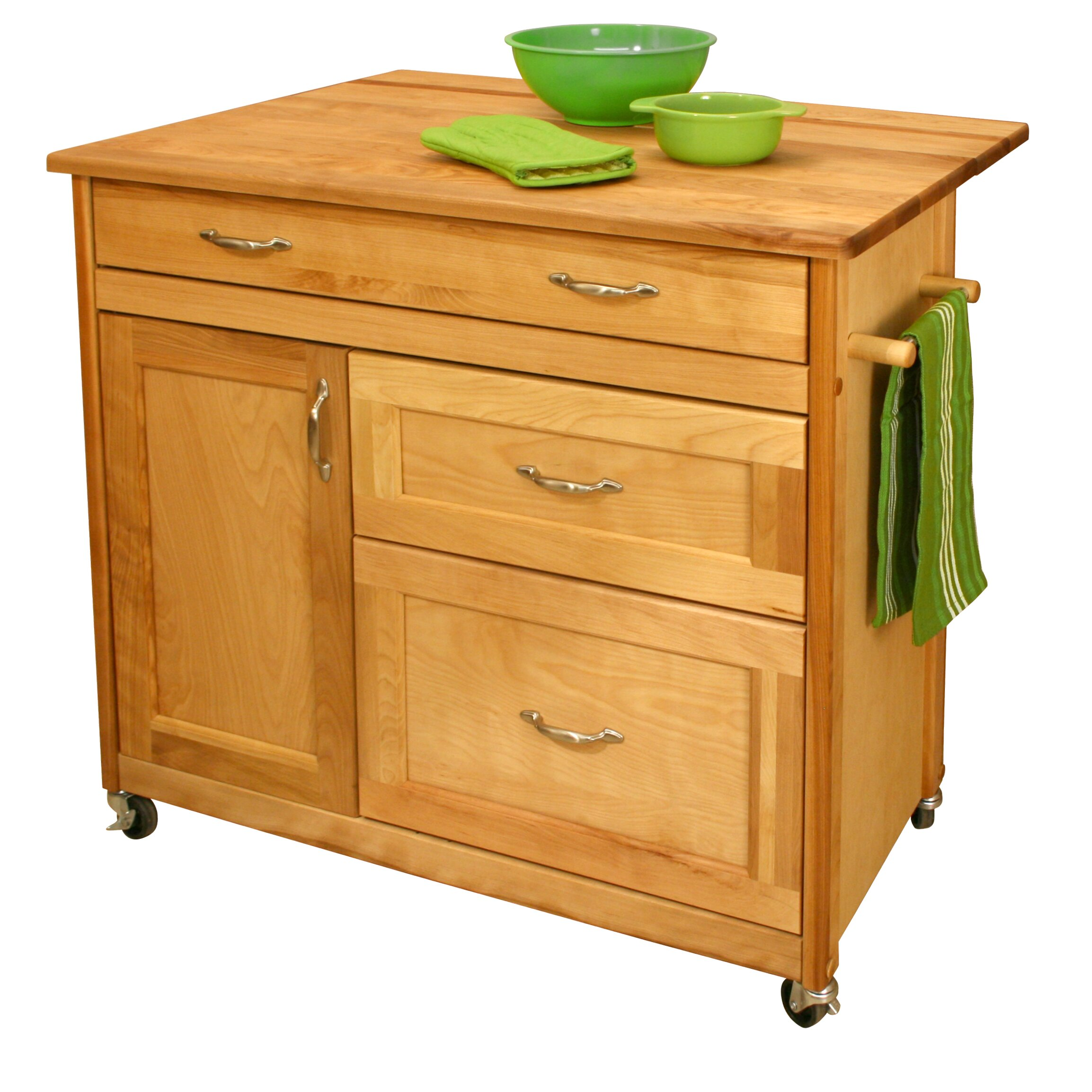 Catskill Craftsmen Kitchen Island Reviews Wayfair