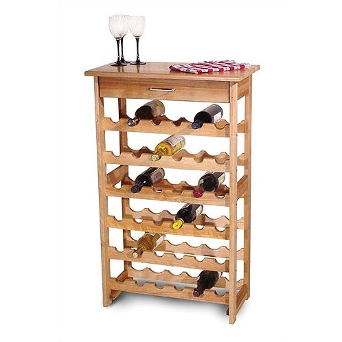 Catskill craftsmen 36 bottle floor wine rack reviews for Floor wine rack