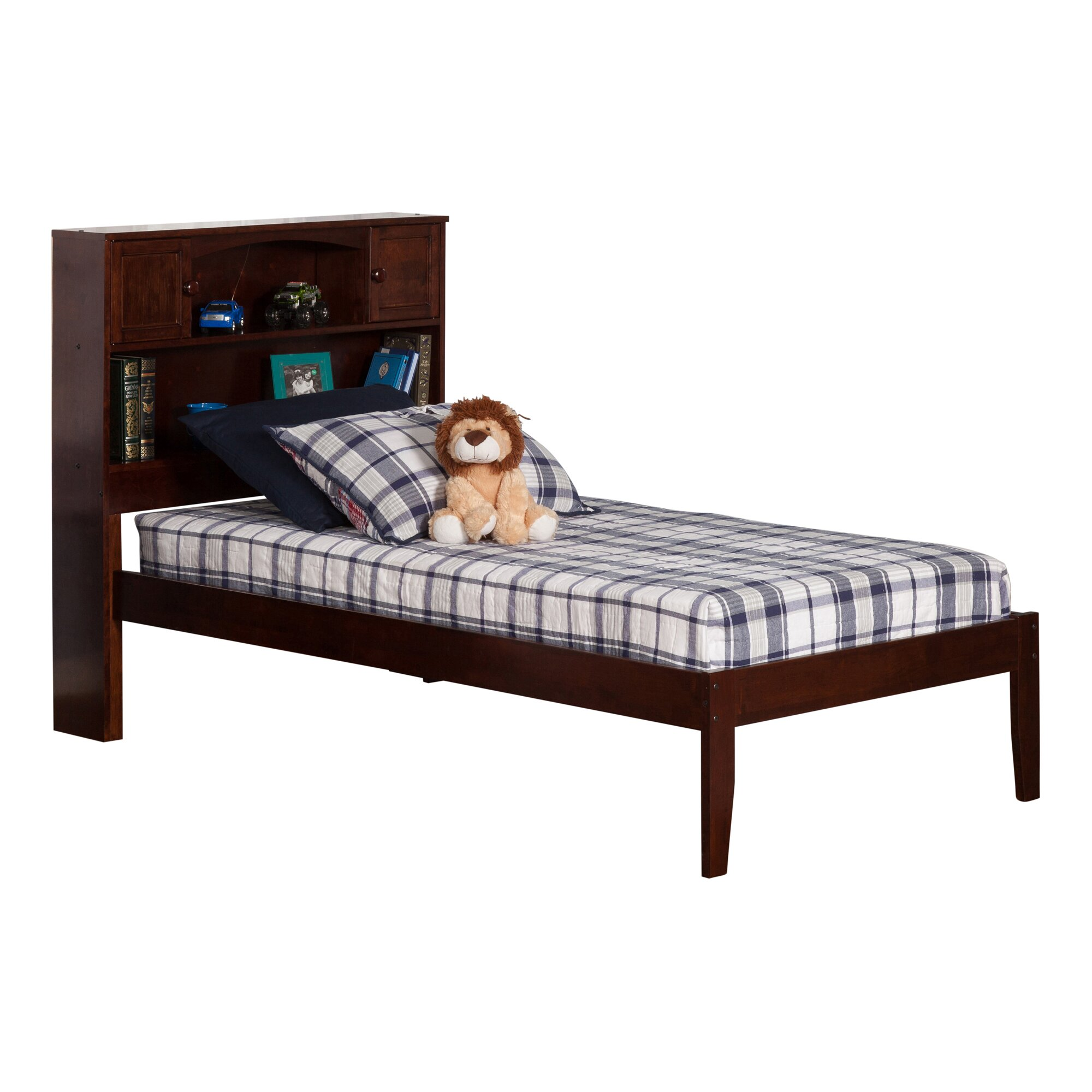 Atlantic Furniture Newport Extra Long Twin Platform Bed