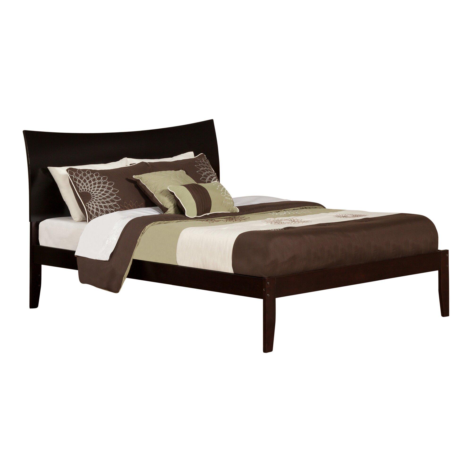 Atlantic furniture soho king platform bed wayfair for Wayfair shop furniture