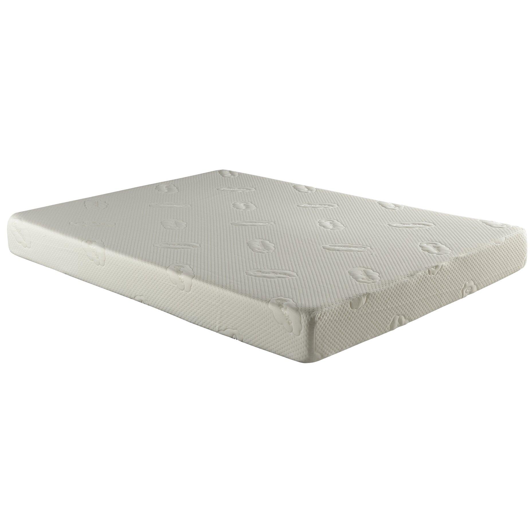 Atlantic Furniture Contora Easy Rest Memory Foam Mattress Reviews Wayfair