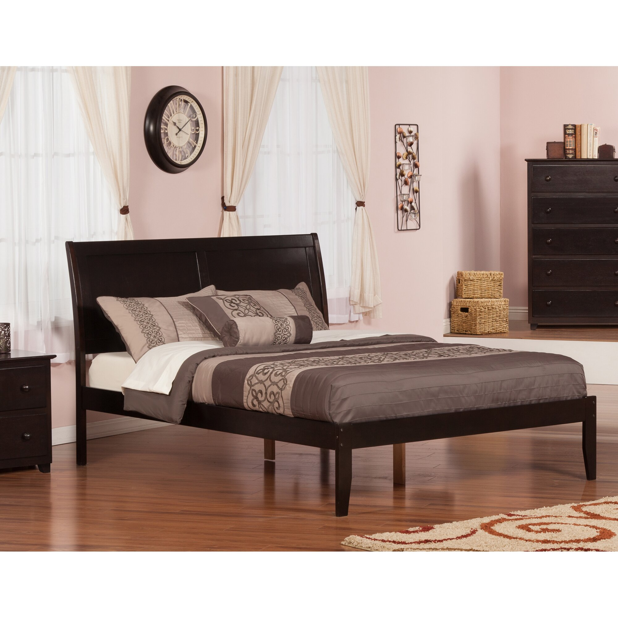 Atlantic Furniture Portland Bed & Reviews