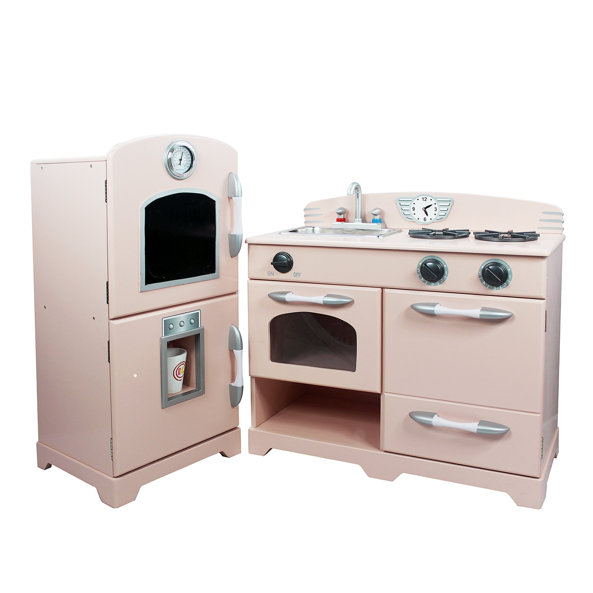 100 kidkraft 2 piece retro kitchen kidkraft retro kitchen w