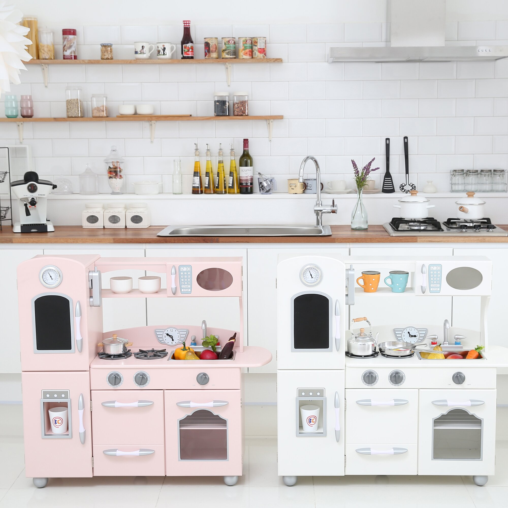 Modern Play Kitchen Sets
