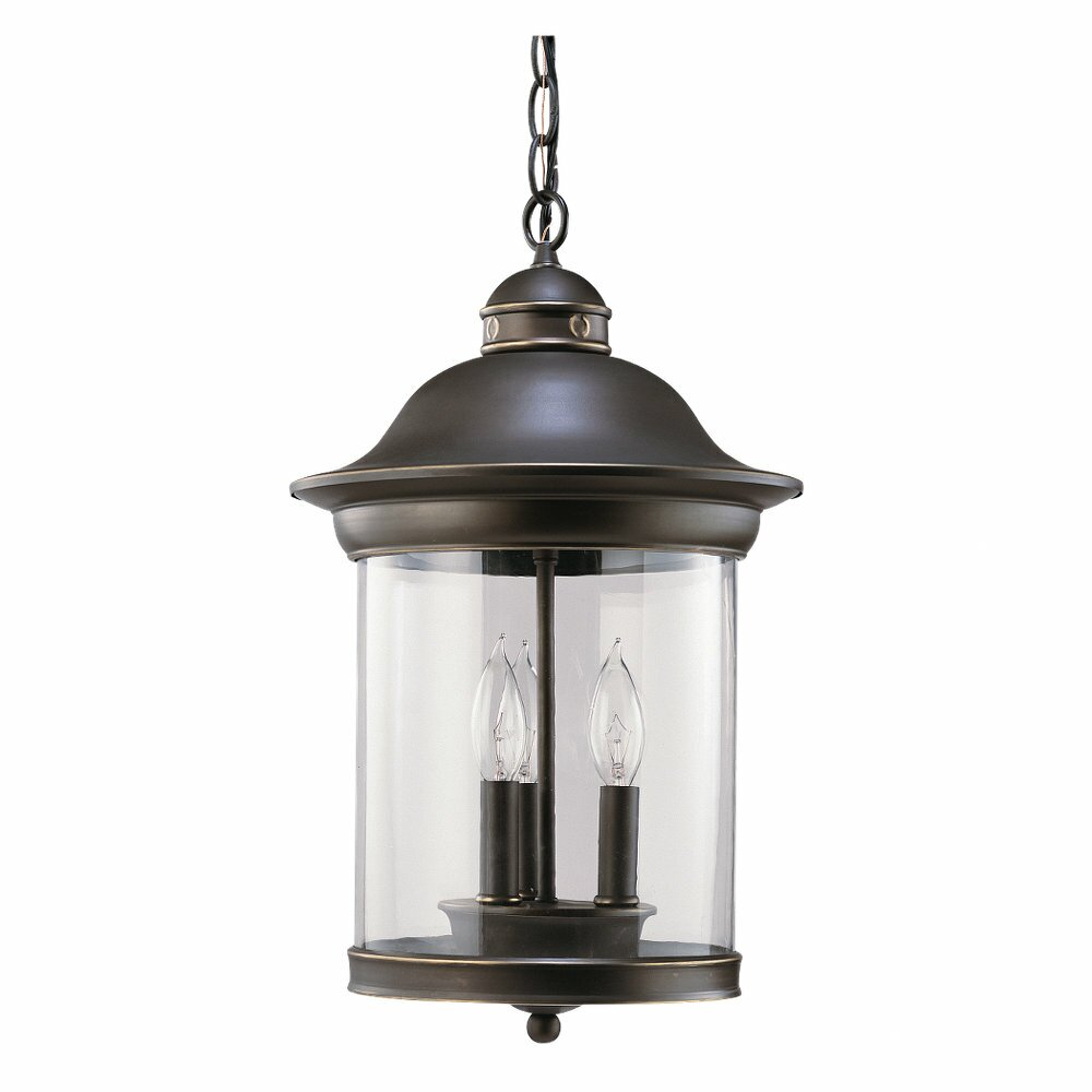 Wayfair Outdoor Hanging Lights: Sea Gull Lighting Hermitage 3 Light Outdoor Hanging