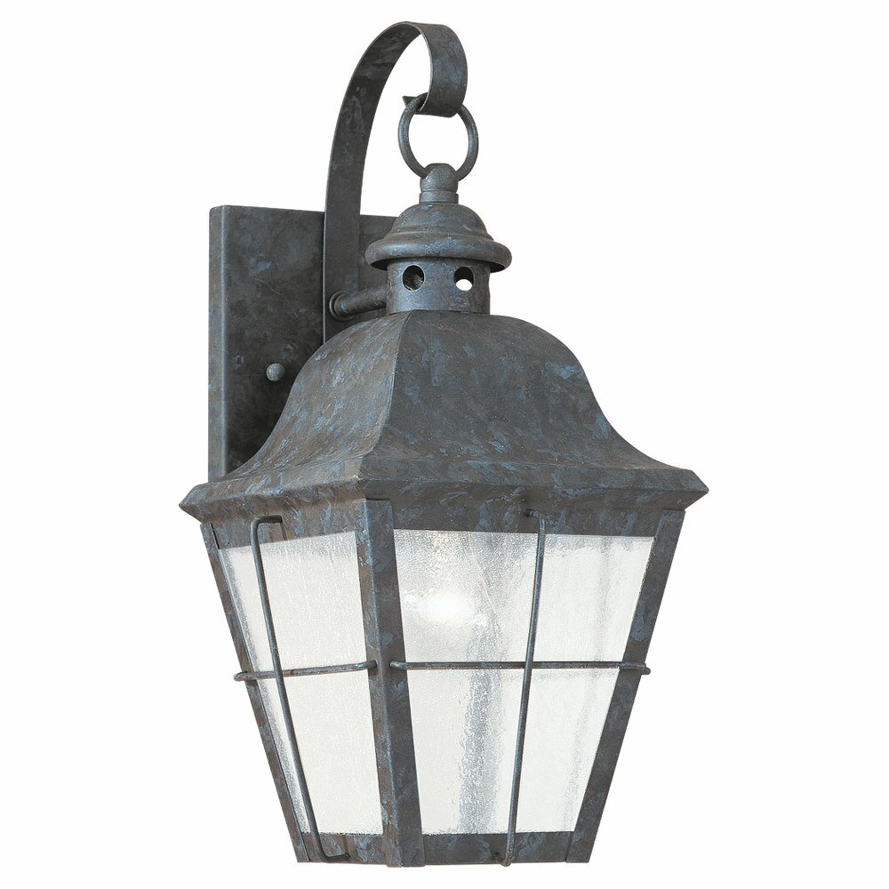 Sea gull lighting colonial styling 1 light outdoor wall for Outdoor colonial lighting