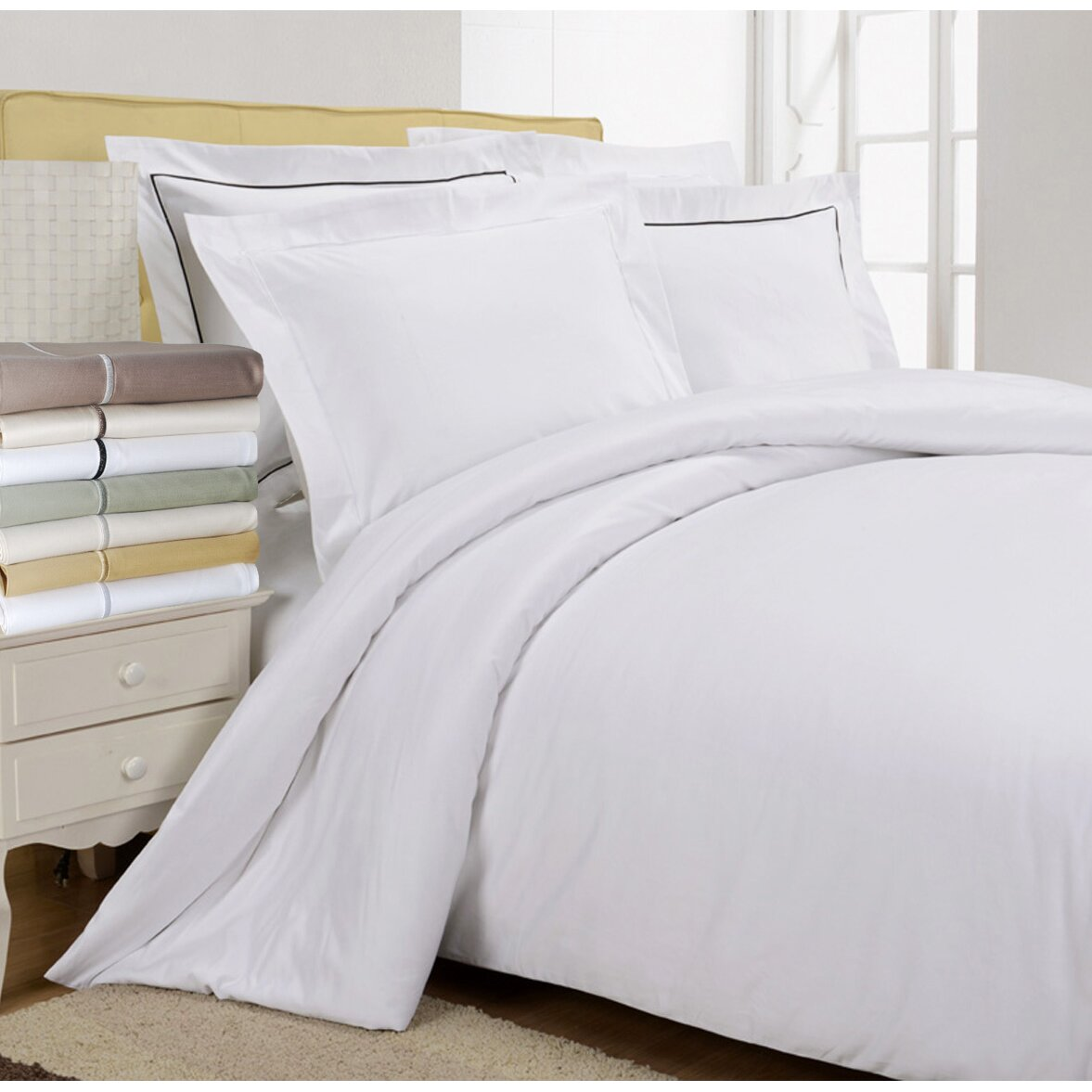 Simple Luxury 800 Thread Count Egyptian Quality Cotton