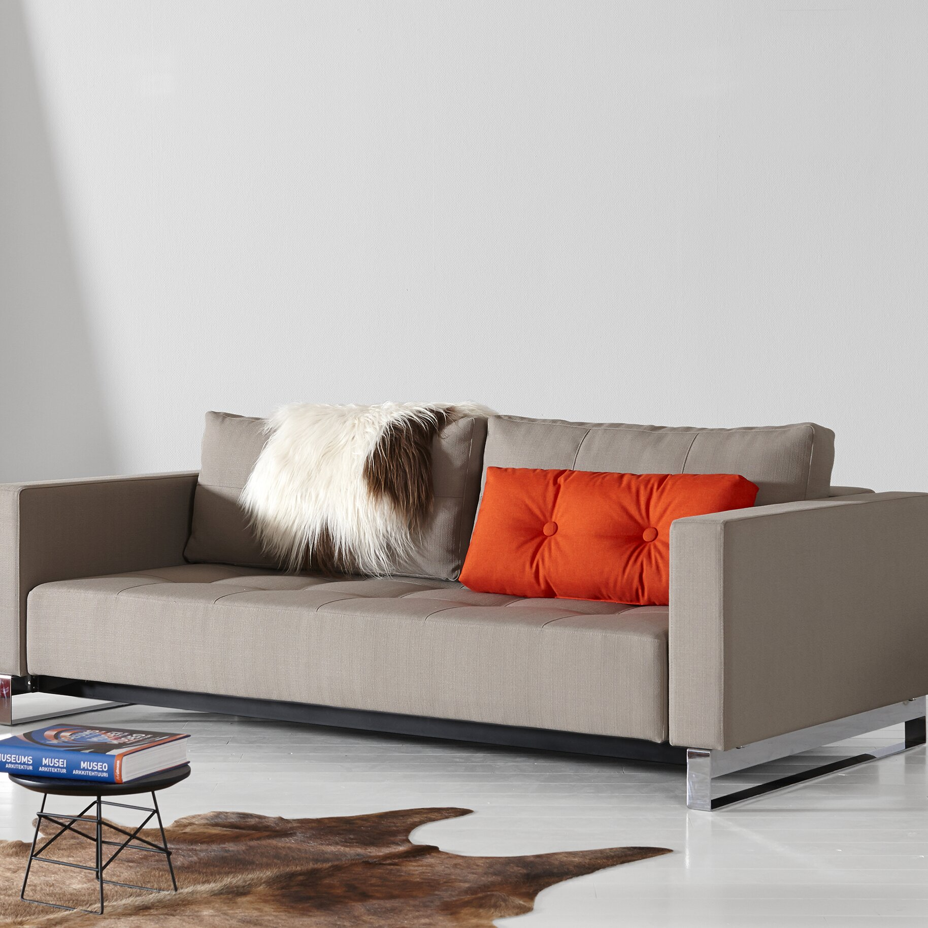 innovation living inc cassius deluxe excess sleeper sofa reviews wayfair. Black Bedroom Furniture Sets. Home Design Ideas