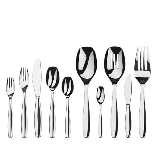 Gourmet settings everyday 45 piece cruise flatware set reviews wayfair - Gourmet settings silverware ...