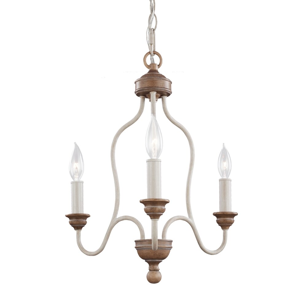 Feiss Hartsville 3 Light Candle Chandelier & Reviews