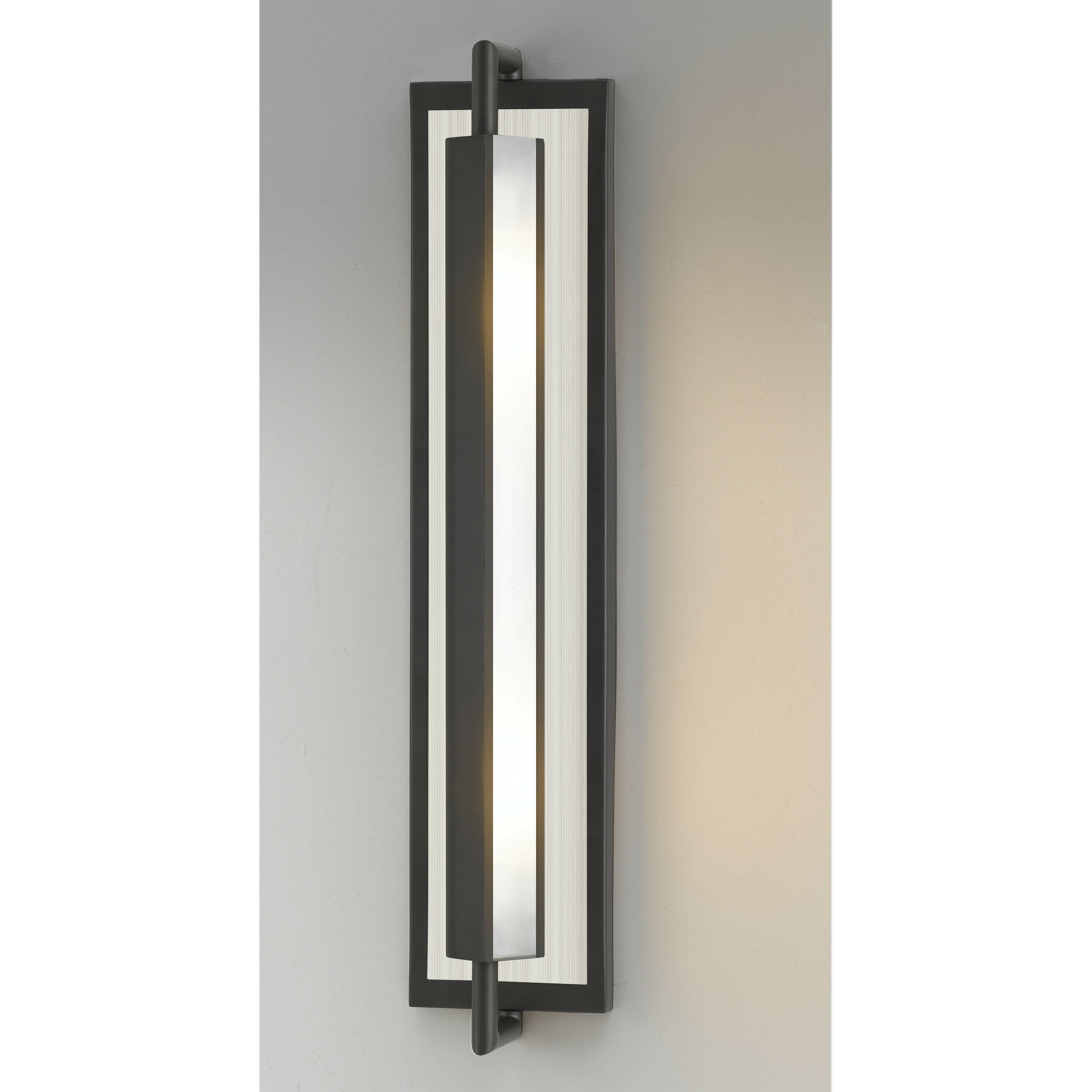 Wall Sconces 2 Lights : Feiss Mila 2 Light Wall Sconce & Reviews Wayfair