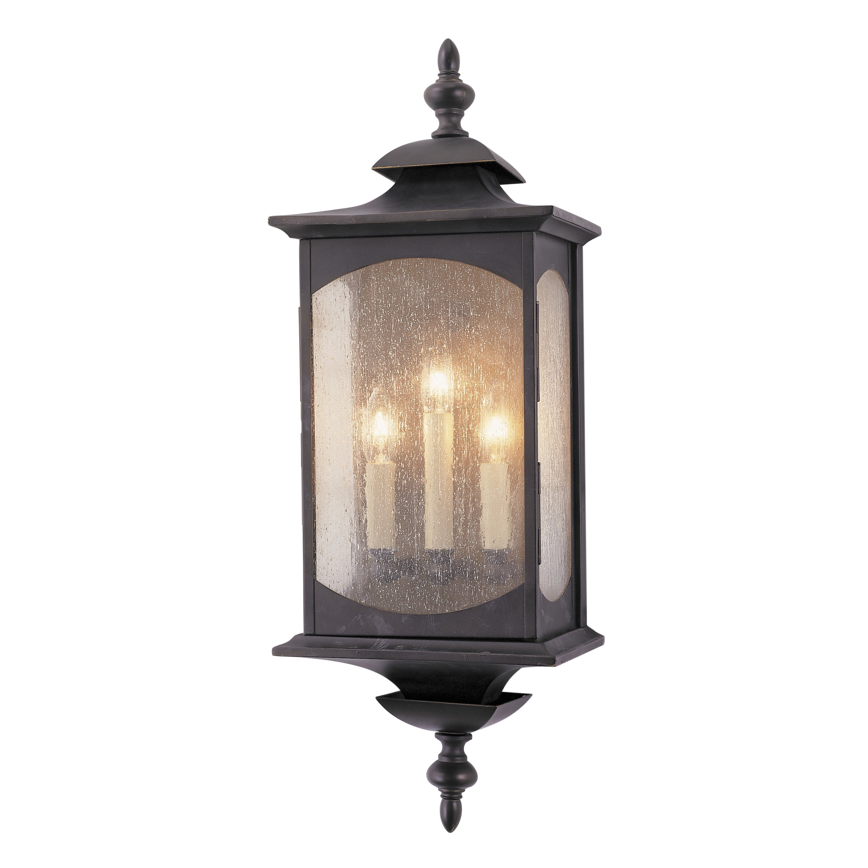 White Square Wall Lights : Feiss Market Square 3 Light Outdoor Wall Lantern & Reviews Wayfair