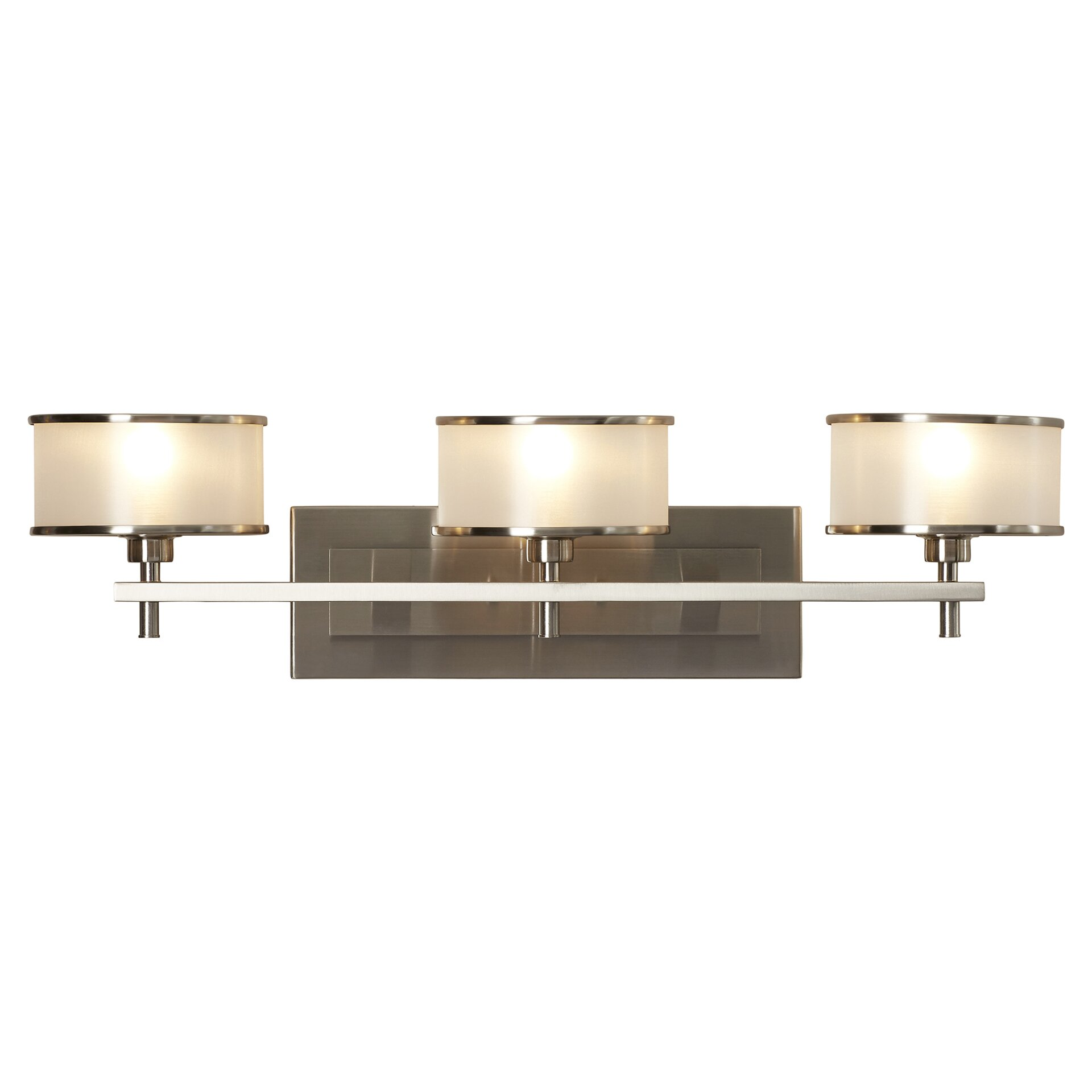 feiss casual luxury 3 light vanity light reviews wayfair