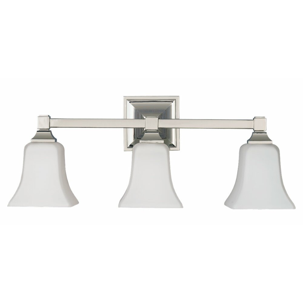 Feiss American Foursquare 3 Light Vanity Light Reviews Wayfair