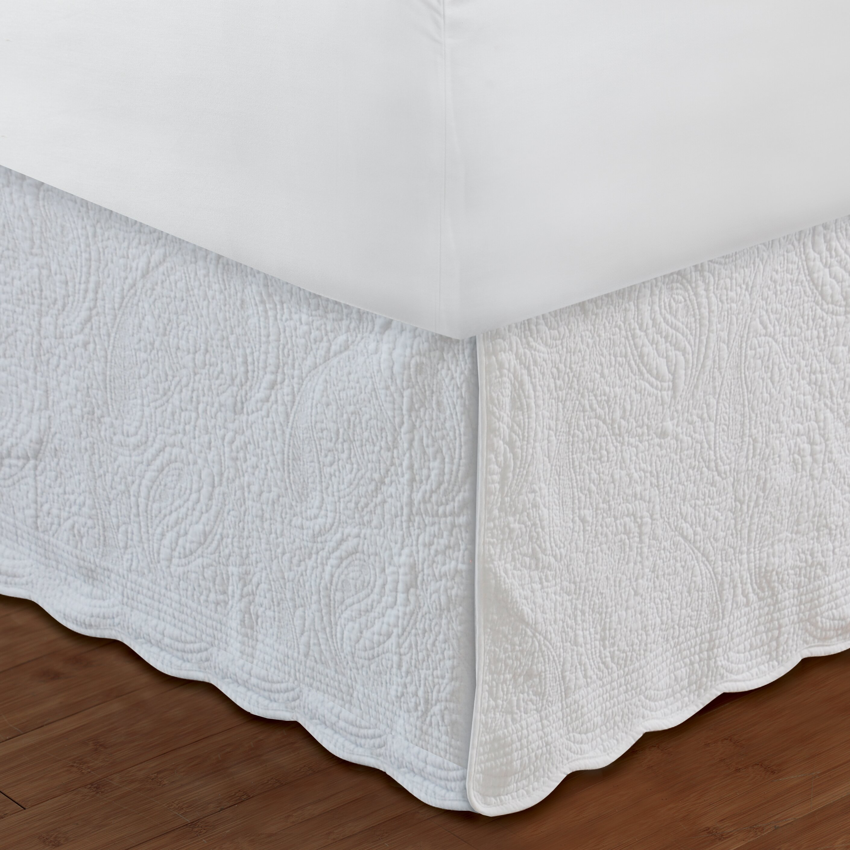 Greenland Home Fashions Paisley Quilted 136 Thread Count