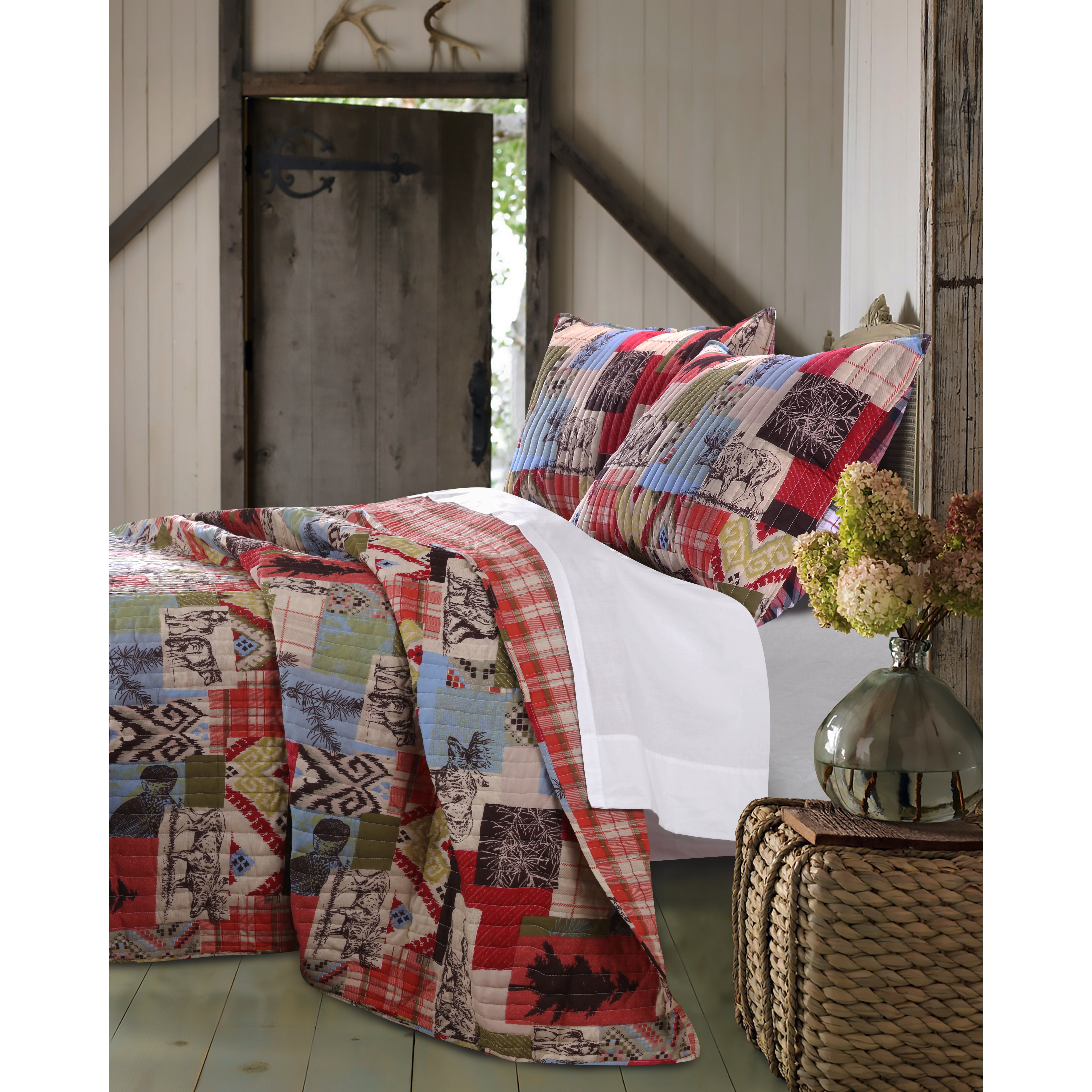 Greenland Home Fashions Rustic Lodge Quilt Set Reviews