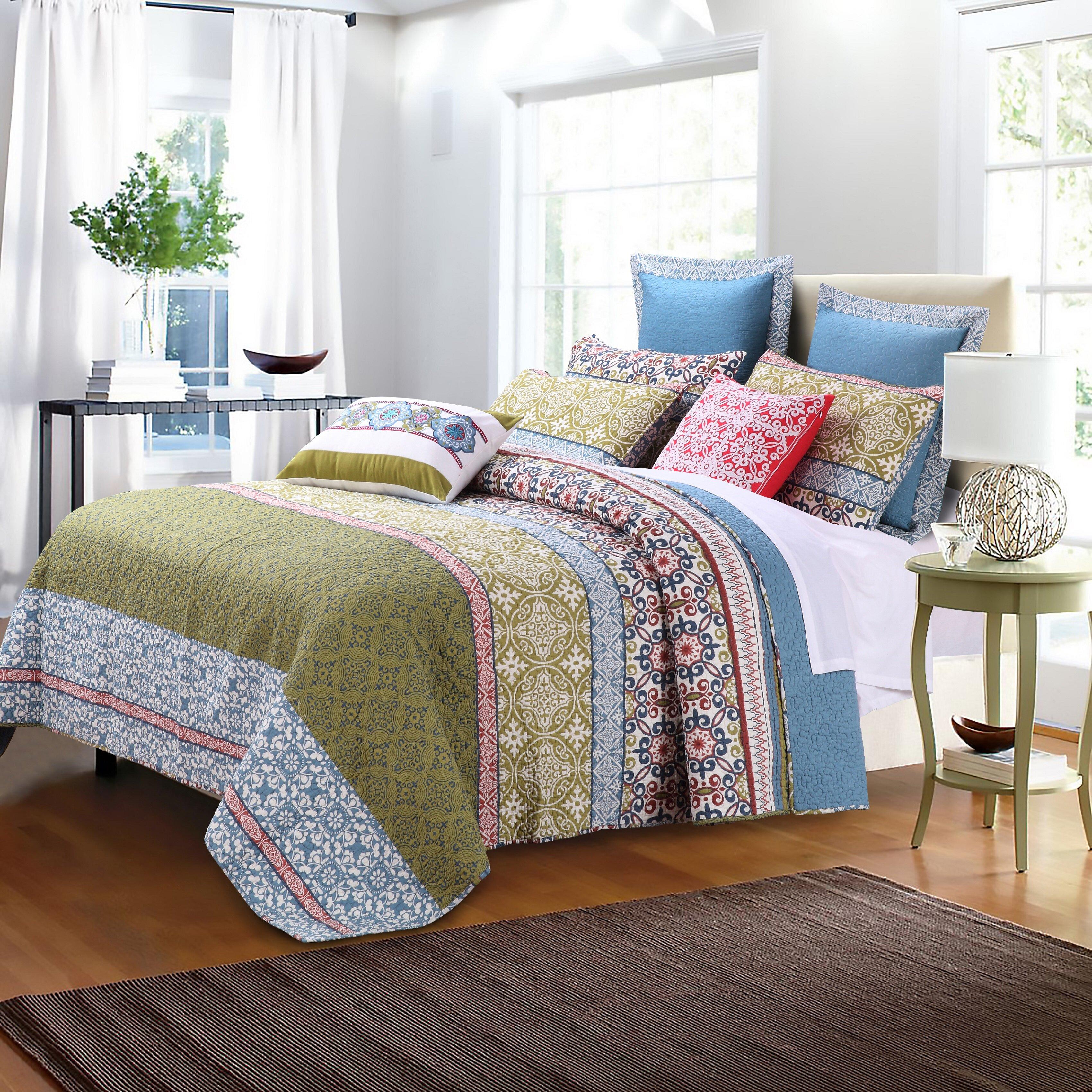 Greenland Home Fashions Shangri La Quilt Set Reviews