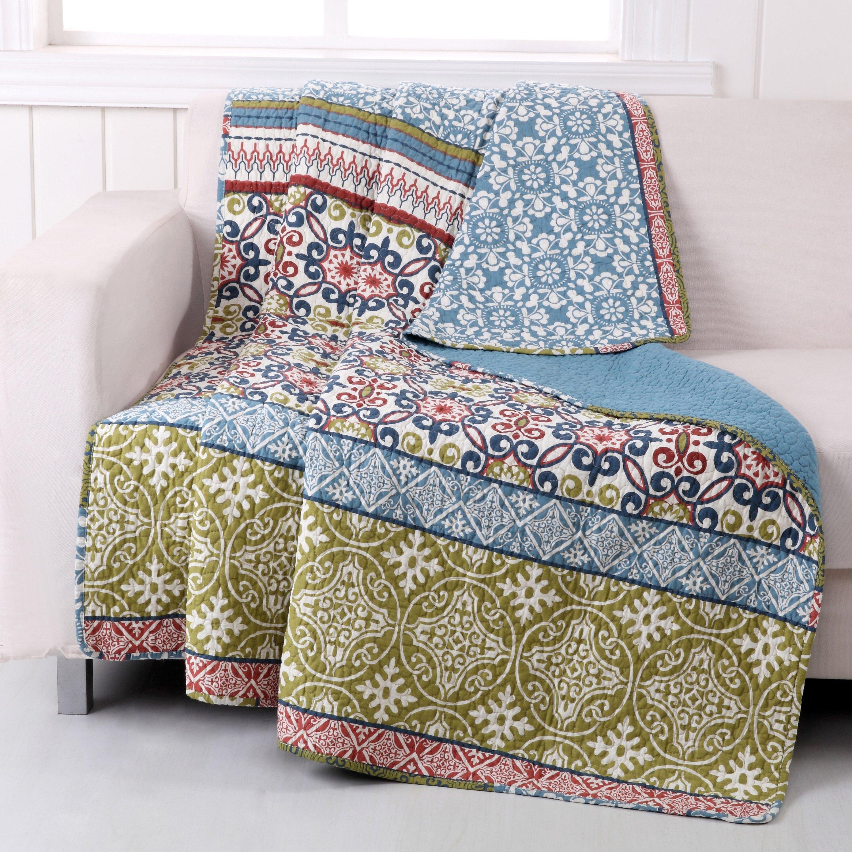 Greenland Home Fashions Shangri La Cotton Throw Reviews