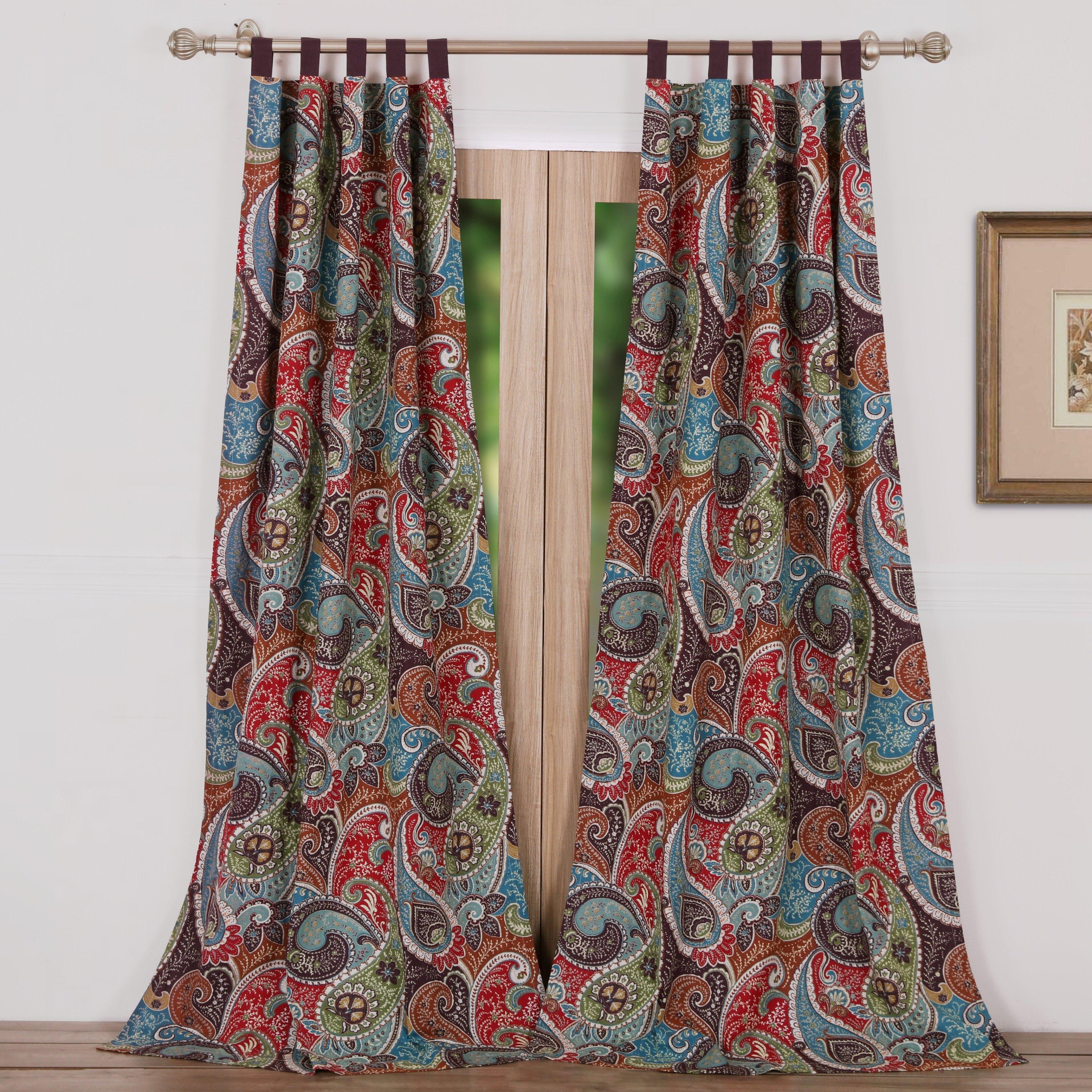 Greenland Home Fashions Tivoli Curtain Panels Reviews