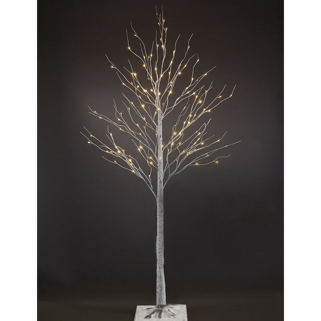 3 Ft Silver Christmas Tree