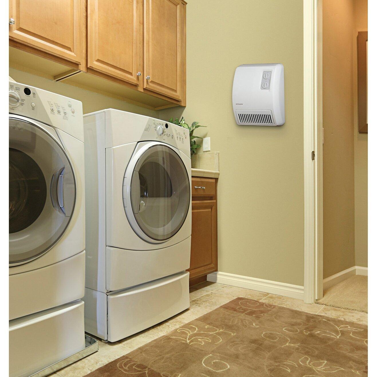 Dimplex Wall Heaters Bathroom: Dimplex 3,413 BTU Wall Insert Electric Fan Heater