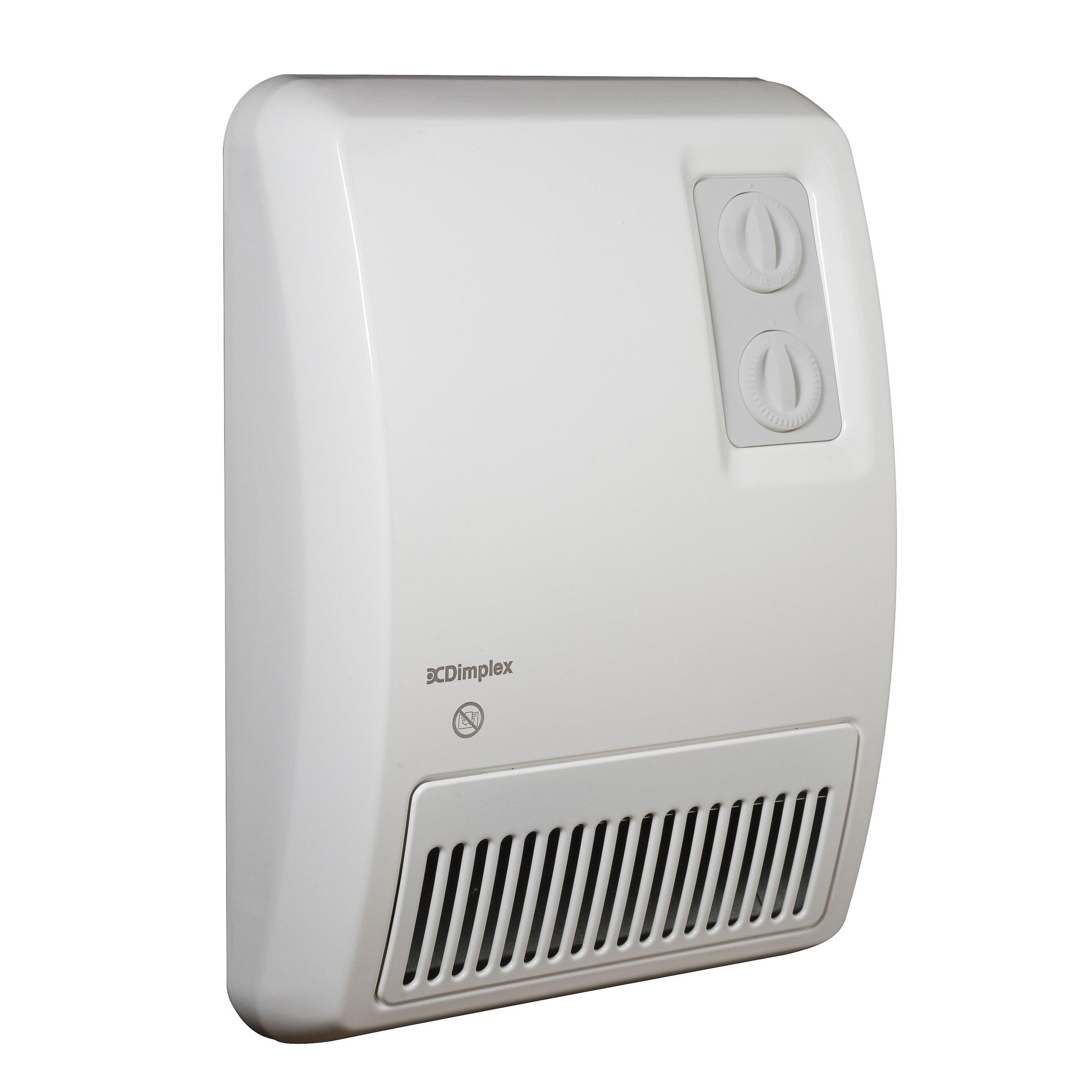 Dimplex 3 413 Btu Wall Insert Electric Fan Heater