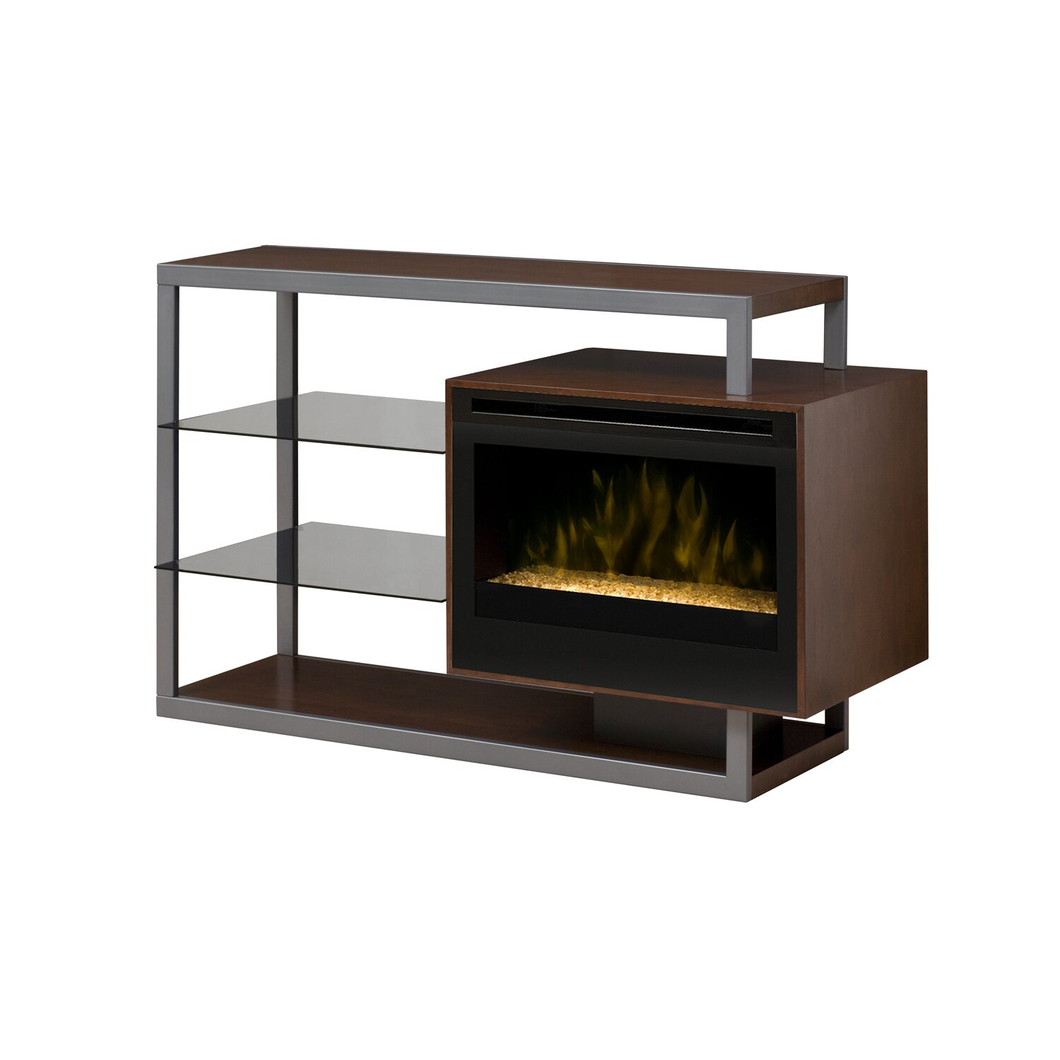 Dimplex Hadley Media Console Electric Fireplace Reviews Wayfair
