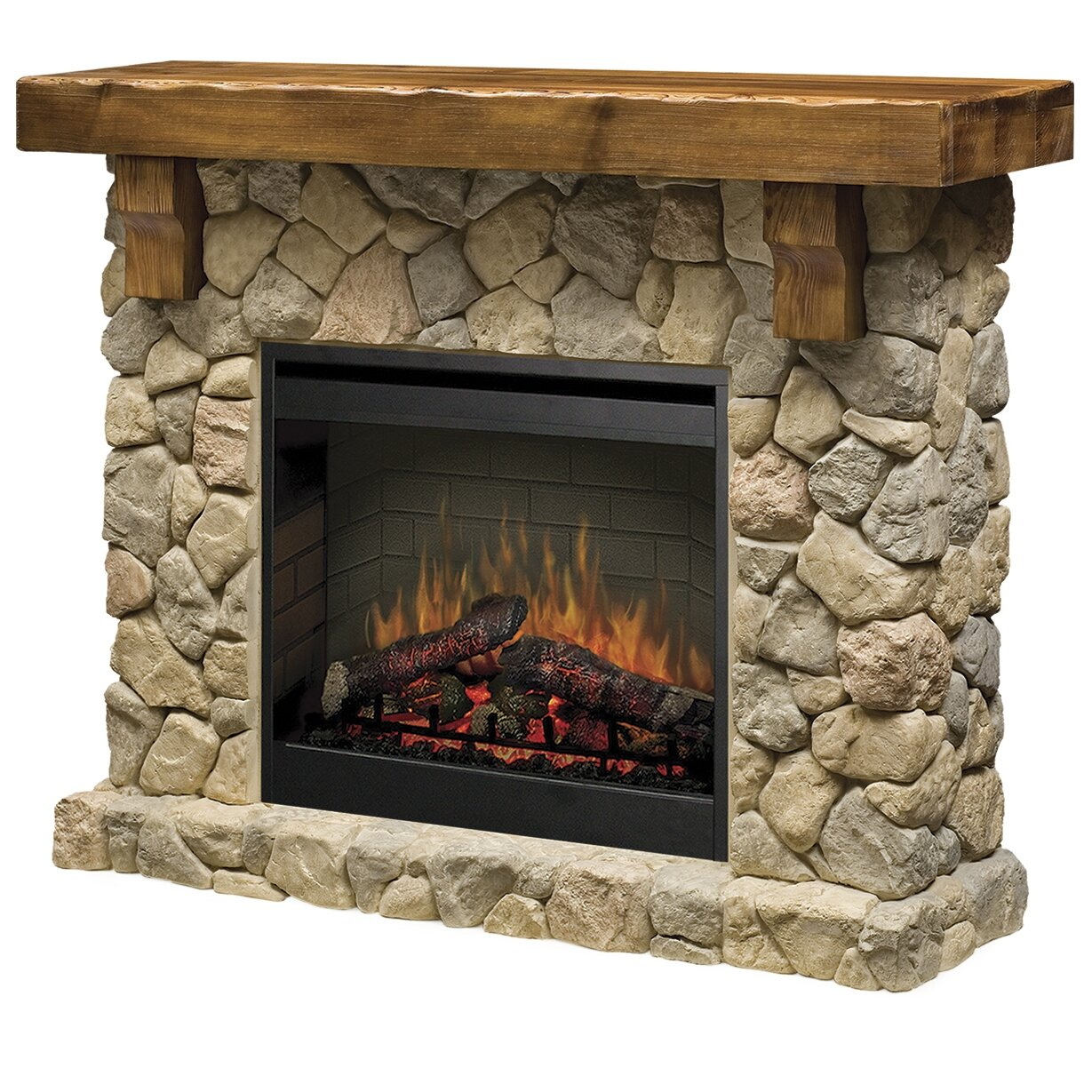 Dimplex Fieldstone Electric Fireplace Reviews Wayfair