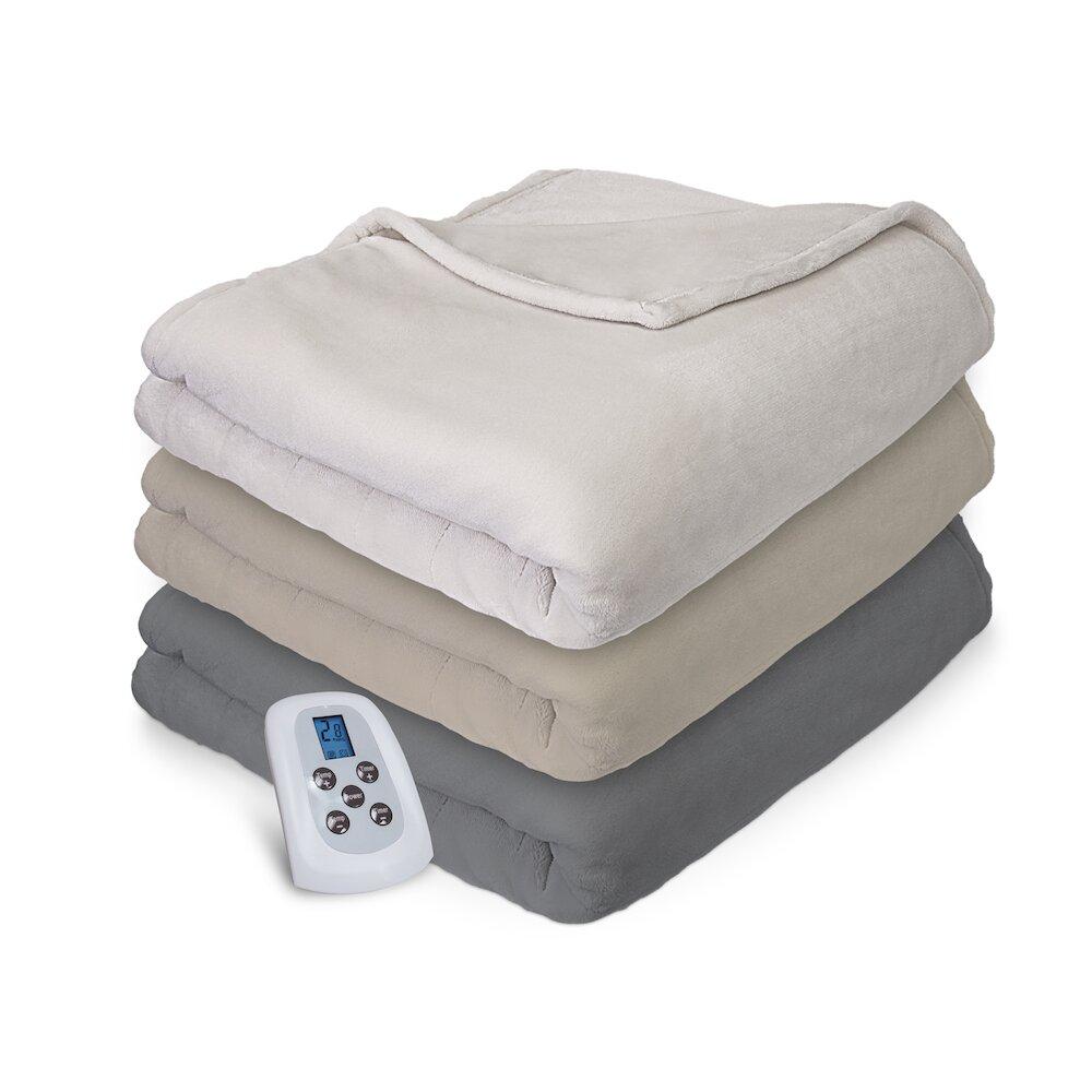 Serta Comfort Plush Electric Heated Blanket Amp Reviews