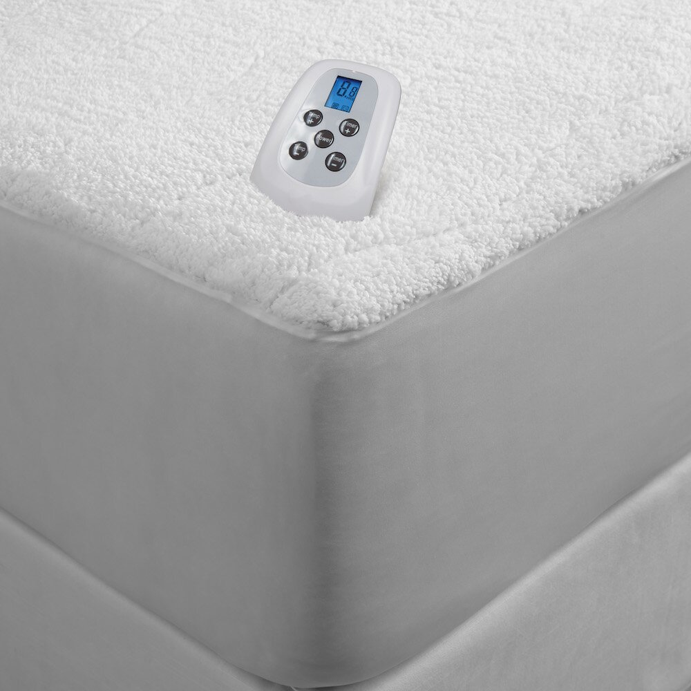 Serta Sherpa Plush Electric Heated Mattress Pad & Reviews