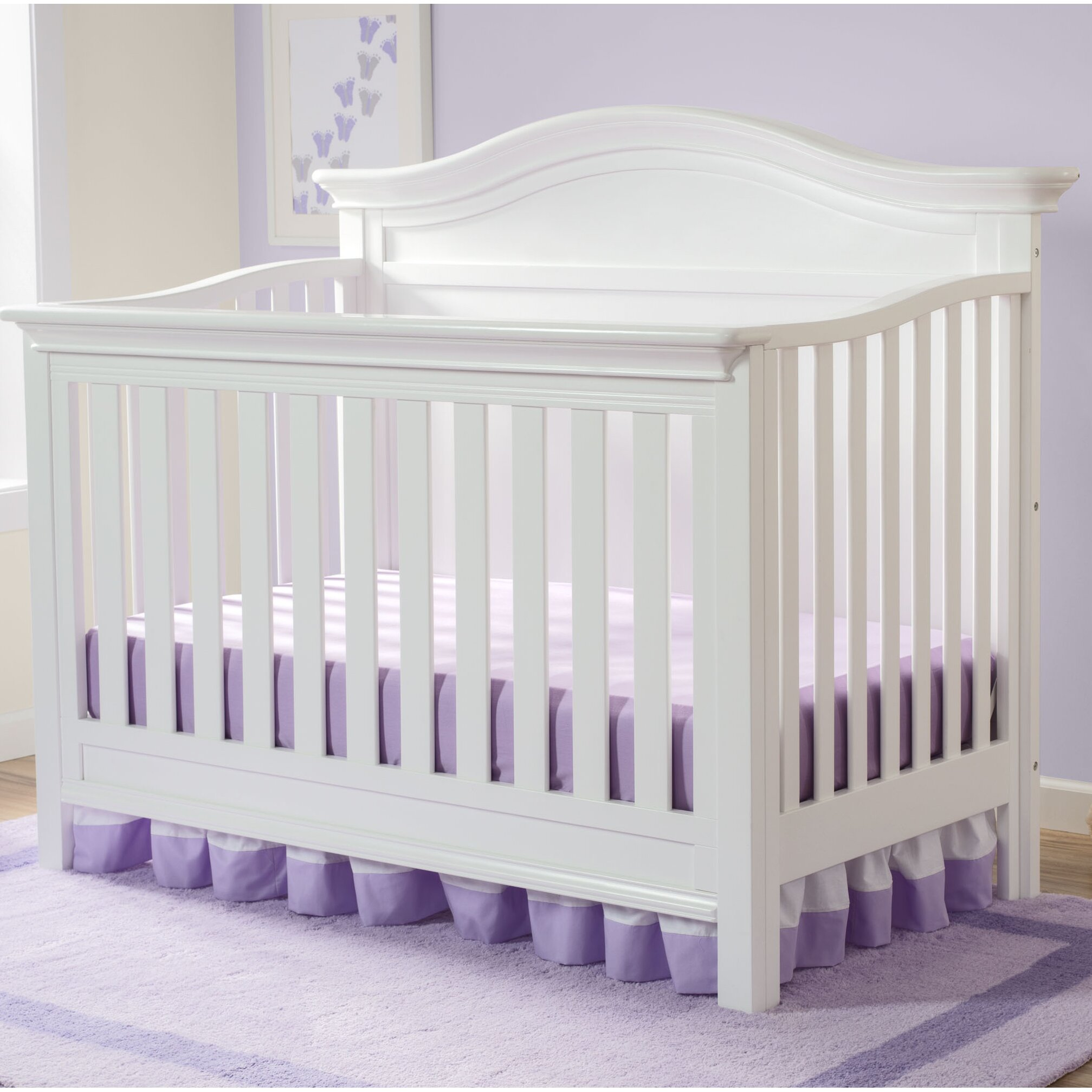 Serta Bethpage 4 In 1 Convertible Crib Wayfair