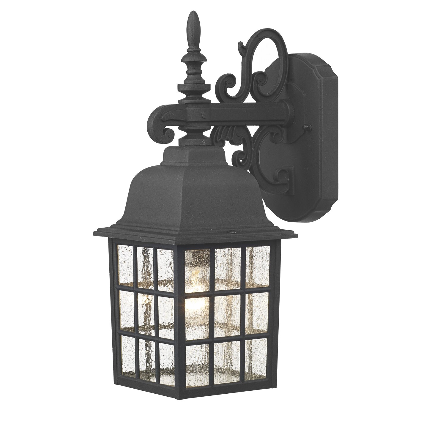 Dar Lighting Norfolk 1 Light Outdoor Wall Lantern & Reviews Wayfair UK