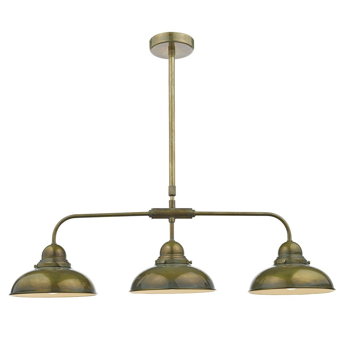 Dar Lighting Dynamo 3 Light Kitchen Island Pendant