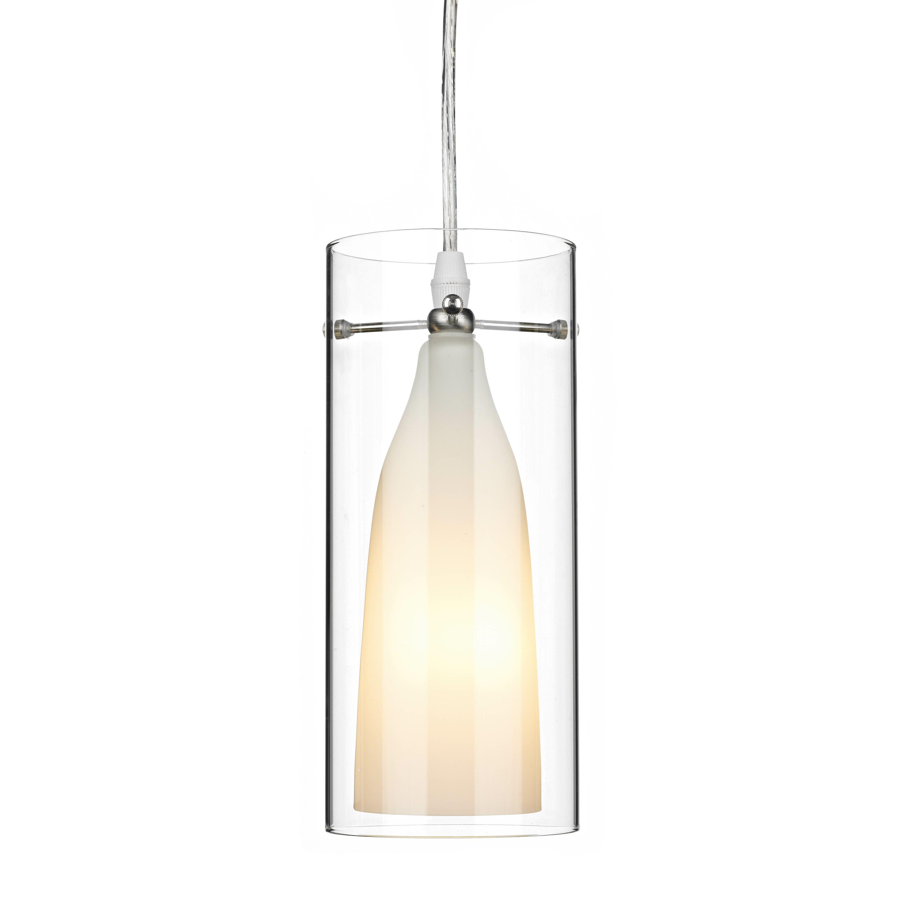 Dar Lighting Boda 1 Light Mini Pendant Amp Reviews Wayfair Uk