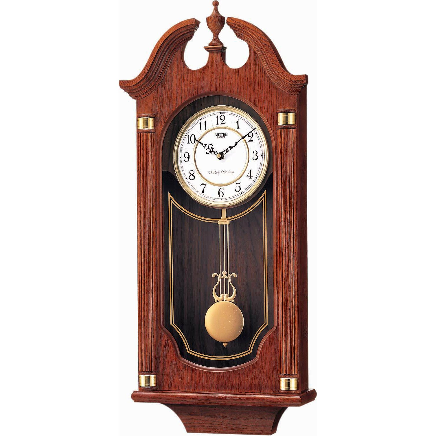 Rhythm Waterloo Wall Clock | Wayfair.ca
