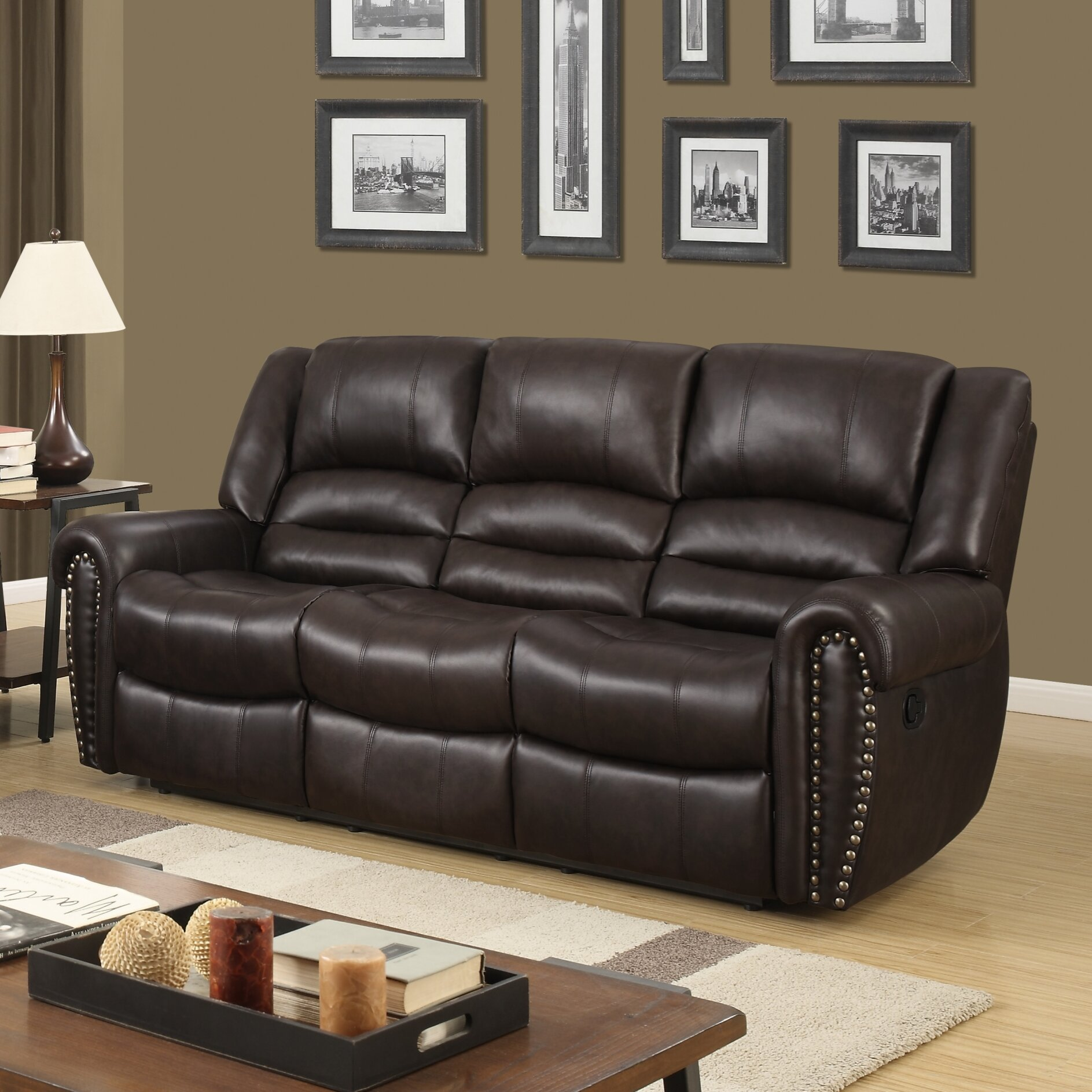 3 Reclining Sectional Sofa